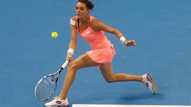 Kerber, a un paso de las semifinales en Singapur