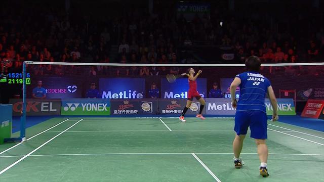 Carolina Marín-Akane Yamaguchi: Sorprendida en semifinales (21-15, 19-21 y 21-18)