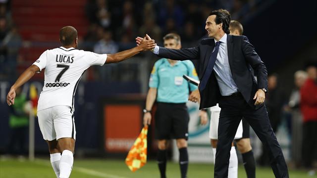 Emery : «Je suis content de la progression de Lucas»