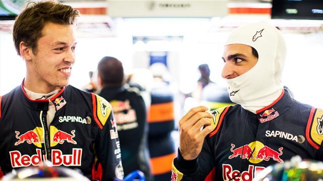 Gasly n'a pas convaincu : Toro Rosso confirme Sainz et Kvyat pour 2017