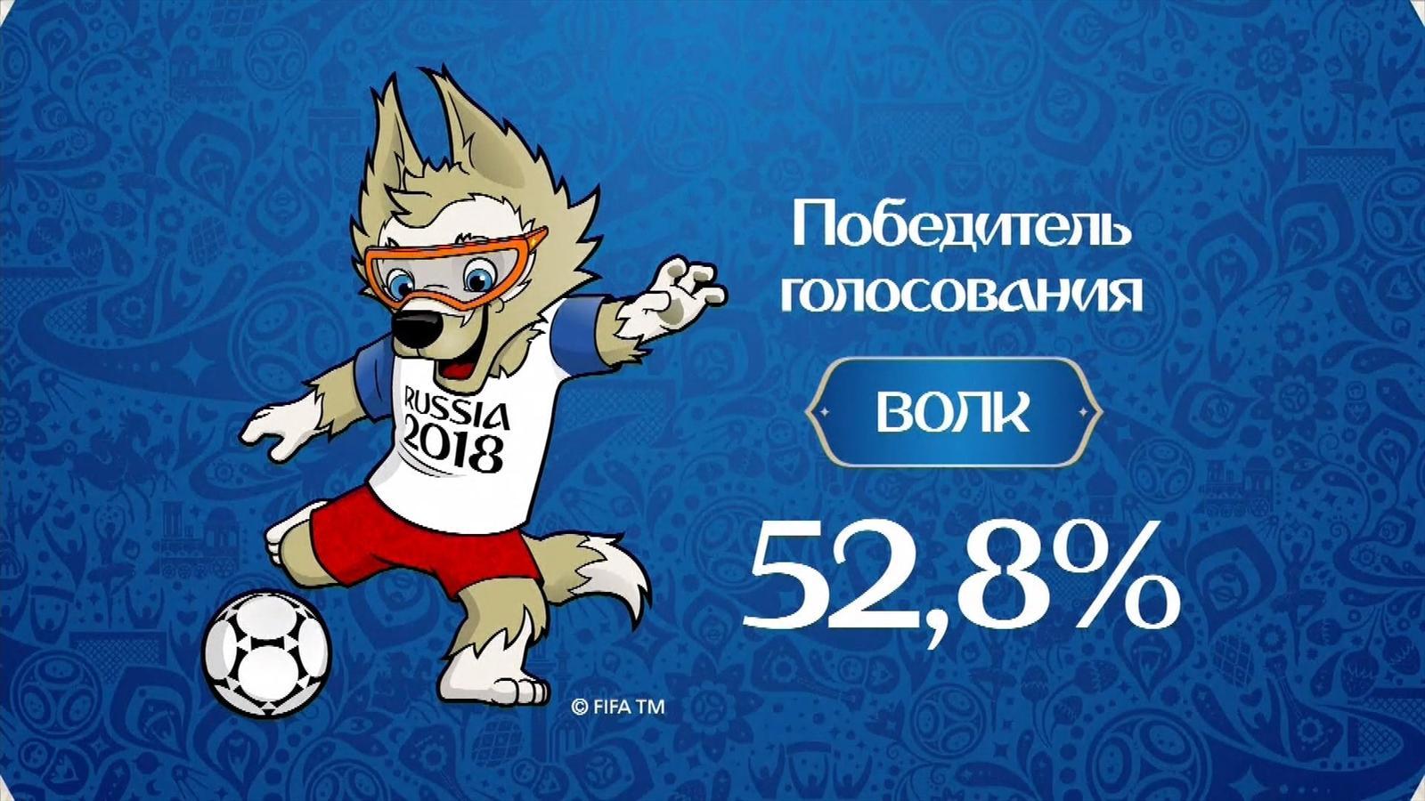 [FA] Zabivaka Wolf Mascot of FIFA World Cup 2018 [Full] by