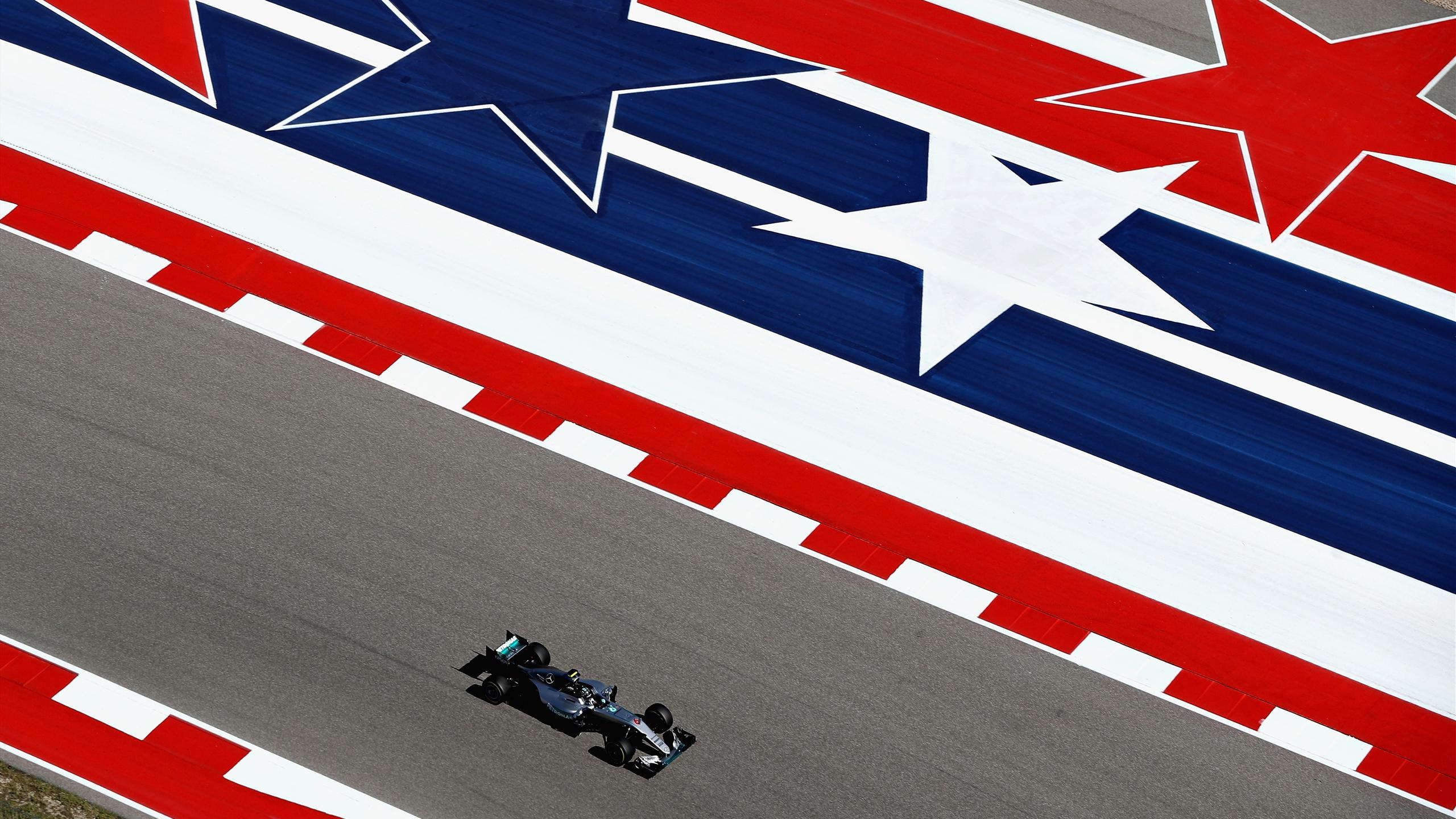 Nico Rosberg (Mercedes) au Grand Prix des Etats-Unis d'Amérique 2016