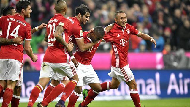Bundesliga, Bayern Múnich-Borussia Mönchengladbach: Victoria de líder (2-0)