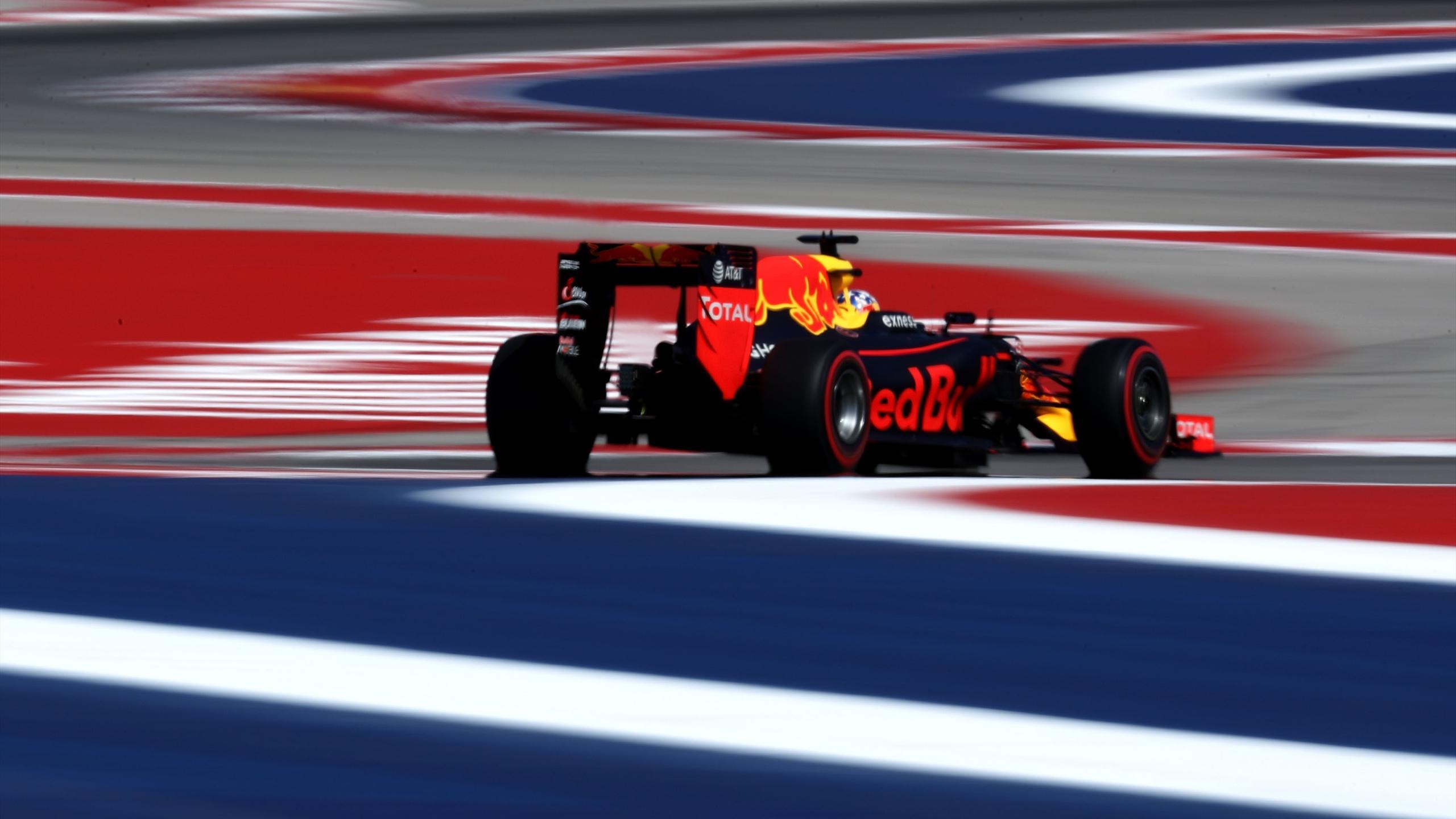 Daniel Ricciardo (Red Bull) au Grand Prix des Etats-Unis d'Amérique 2016