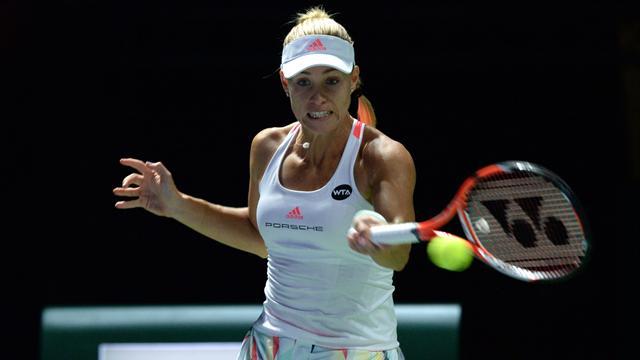 Copa Masters, Kerber-Cibulková: Fortaleza alemana (7-6, 2-6 y 6-3)