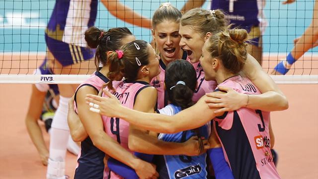 Coppa Italia, quarti di finale: Casalmaggiore perde il golden set, festa Modena