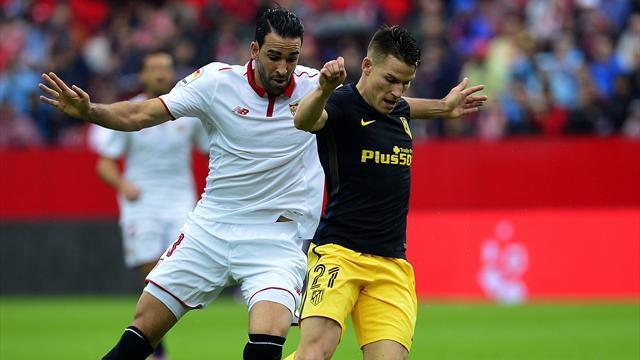 Atlético de Madrid-Sevilla: Intensidad, tensión y presión por la tercera plaza