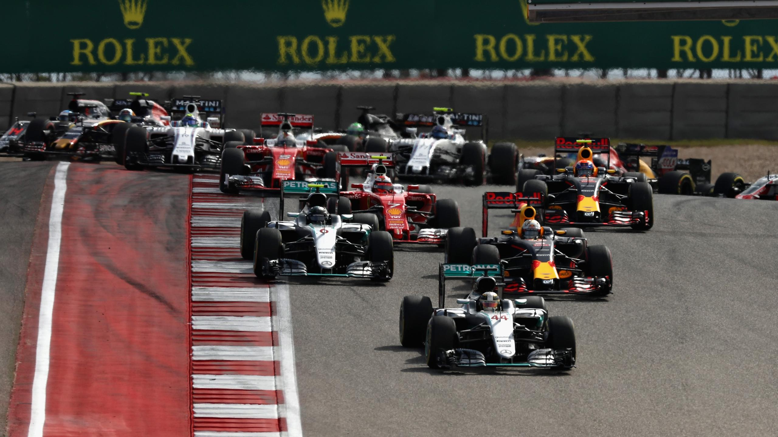 Lewis Hamilton (Mercedes) au Grand Prix des Etats-Unis d'Amérique 2016