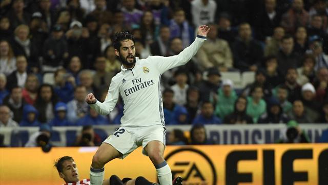 Zidane: Isco should follow Nacho and Lucas Vazquez to get a new contract