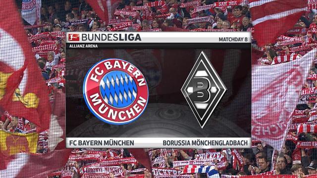 Highlights: Bayern Munich cruise past Borussia Monchengladbach