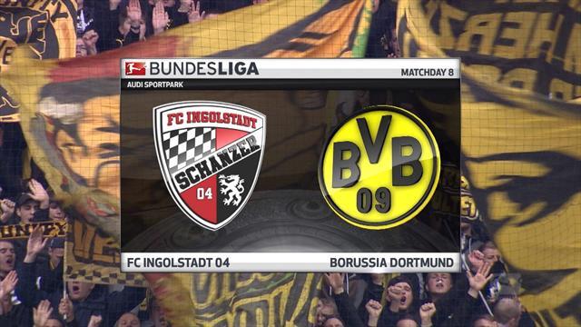 Highlights: Ingolstadt 3-3 Dortmund