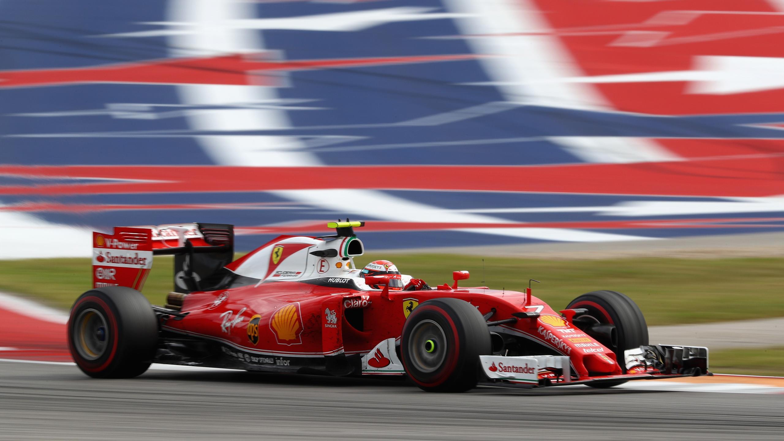 Kimi Räikkönen (Ferrari) au Grand Prix des Etats-Unis d'Amérique 2016