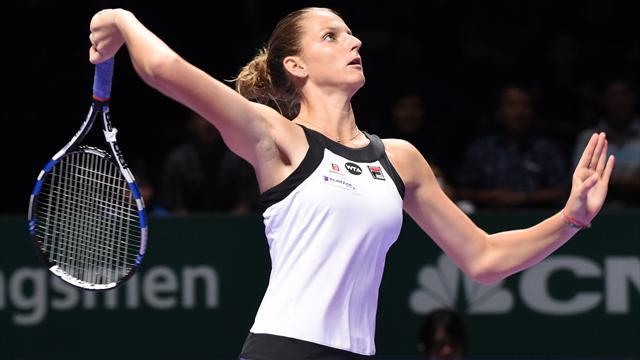 Kuznetsova et Pliskova signent des débuts renversants