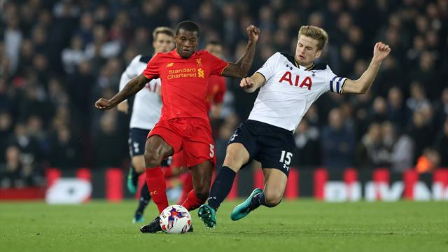 Liverpool wirft Tottenham aus dem League Cup