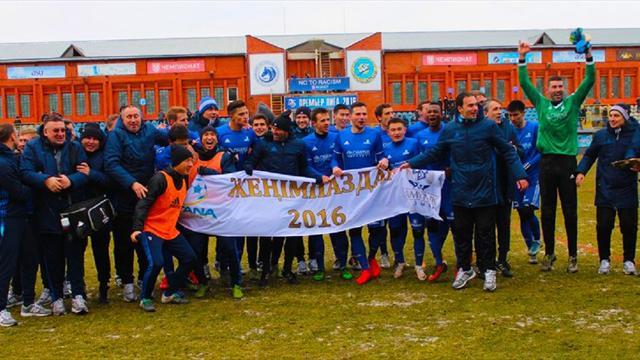 «Астана» стала чемпионом Казахстана
