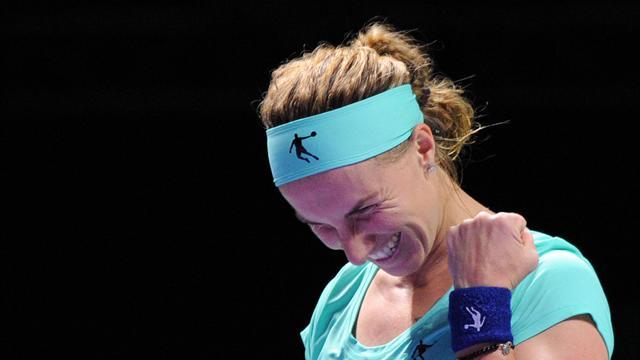 Tennis : Kuznetsova file en demie, terminé pour Muguruza