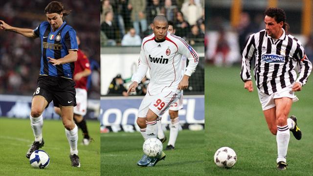 Ronaldo, Vieri, Pirlo : Higuain n'est pas le seul à avoir trahi son ancienne écurie