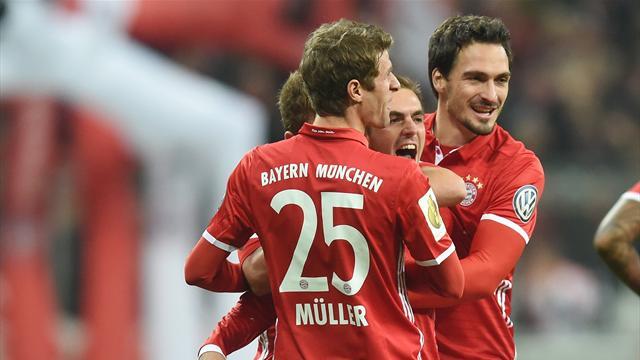 Sans briller, le Bayern et Dortmund franchissent le 2e tour
