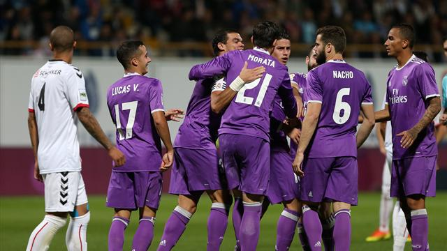 Impitoyable, le Real Madrid a étrillé Cultural Leonesa