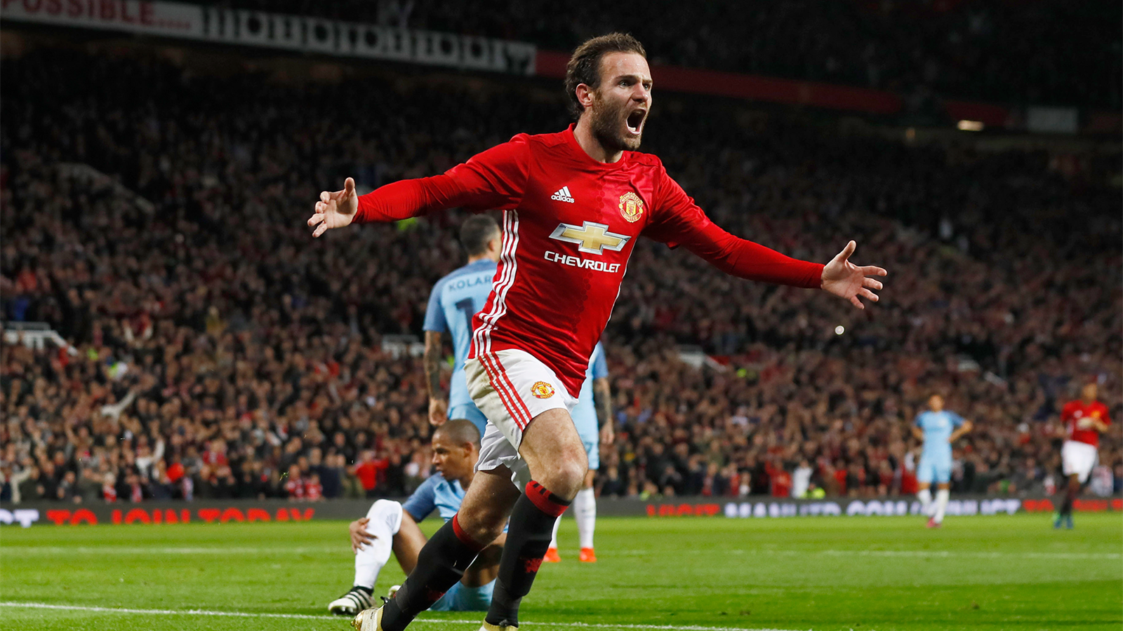 Juan Mata fires winner as Manchester United dump out Manchester