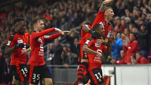 Au bout d'un derby fou, Rennes a eu le dernier mot