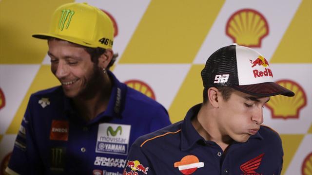 La obsesión de Rossi con Márquez, al descubierto en una foto