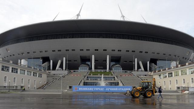 Настадионе «Зенит-Арена» тестирование системы отопления закончилось потопом