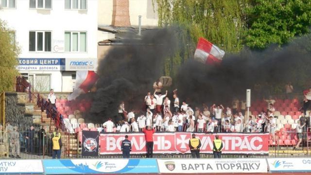 «Динамо» и«Карпаты» строго наказали заповедение болельщиков