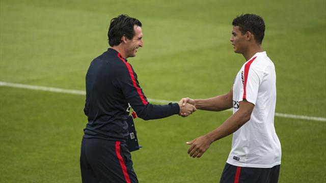 Emery : »Nous voulons garder Thiago Silva»