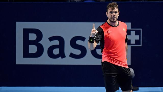 Wawrinka en quart de finale à Bâle, une première depuis cinq ans