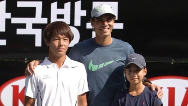 Duckhee Lee, le Beethoven du tennis couvé par Nadal