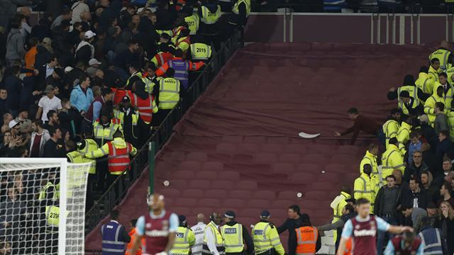 Wenger redoute que les violences à West Ham empêchent le retour des tribunes debout
