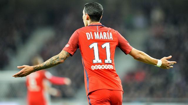 Matuidi absent, Di Maria de retour contre Angers