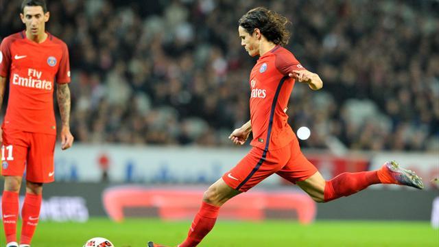 En marquant contre Lille, Cavani entre dans le top 5 des buteurs du PSG