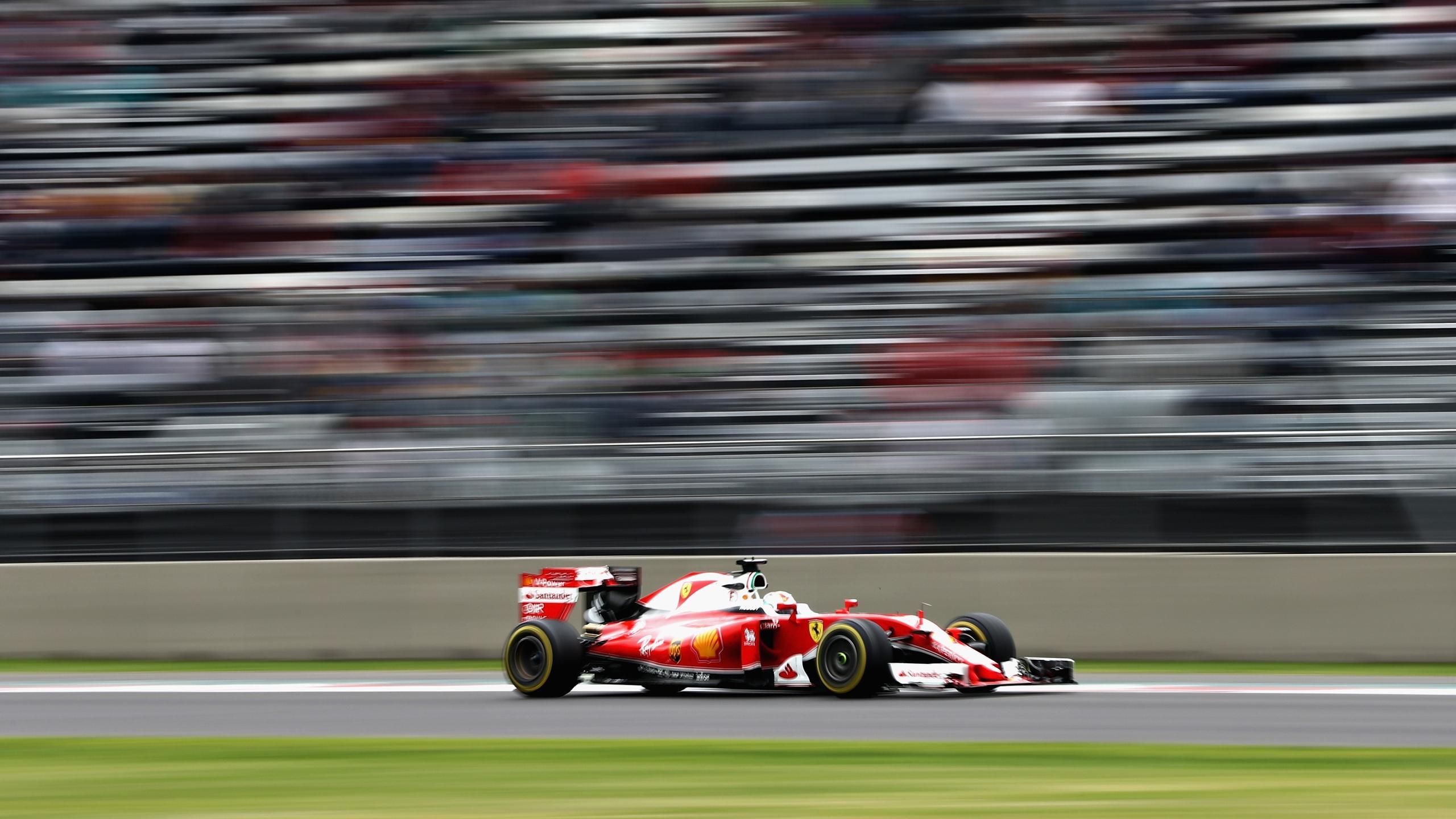 Sebastian Vettel (Ferrari) au Grand Prix du Mexique 2016