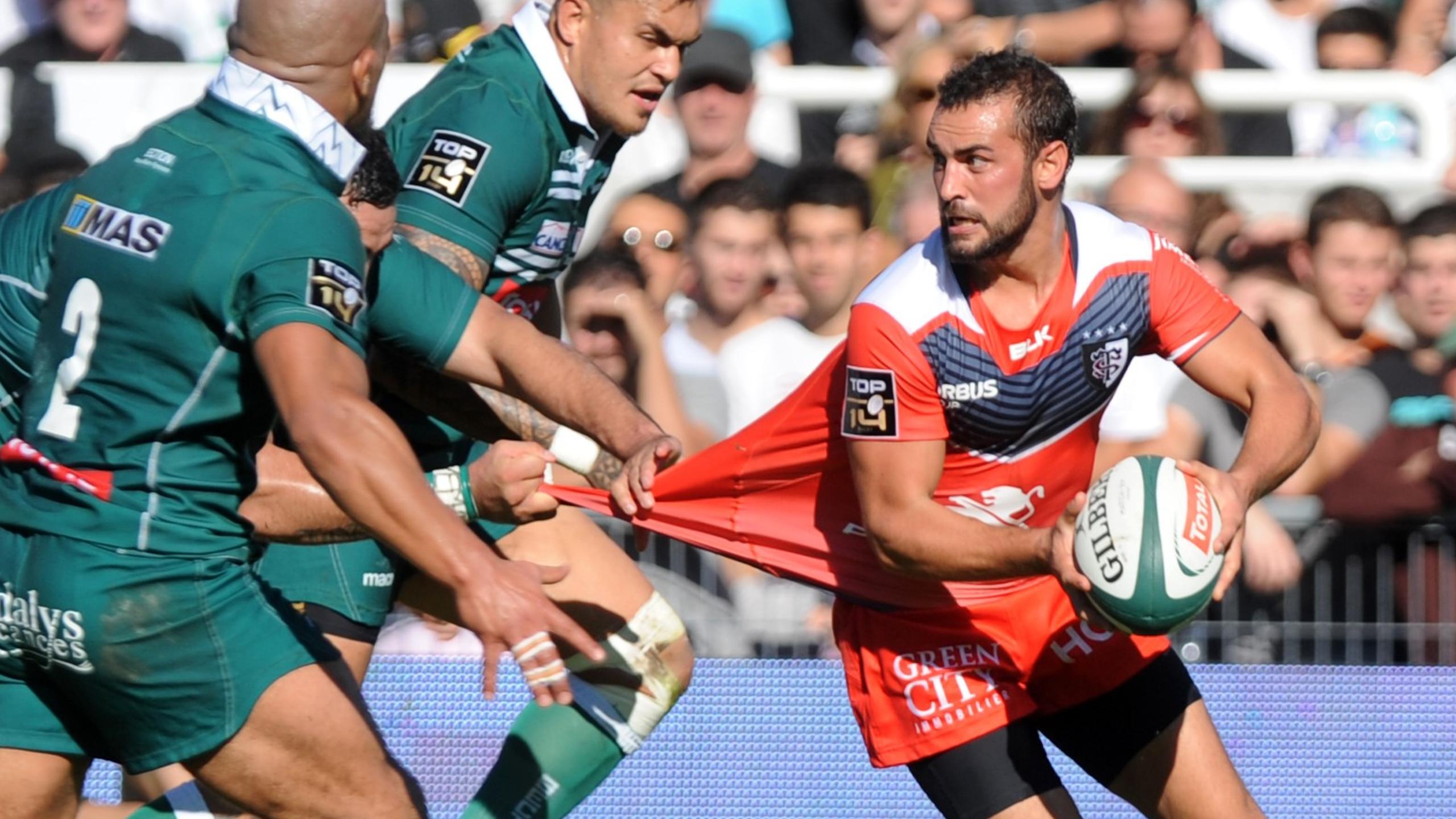 Samuel Marques (Toulouse) face à Pau - 29 octobre 2016