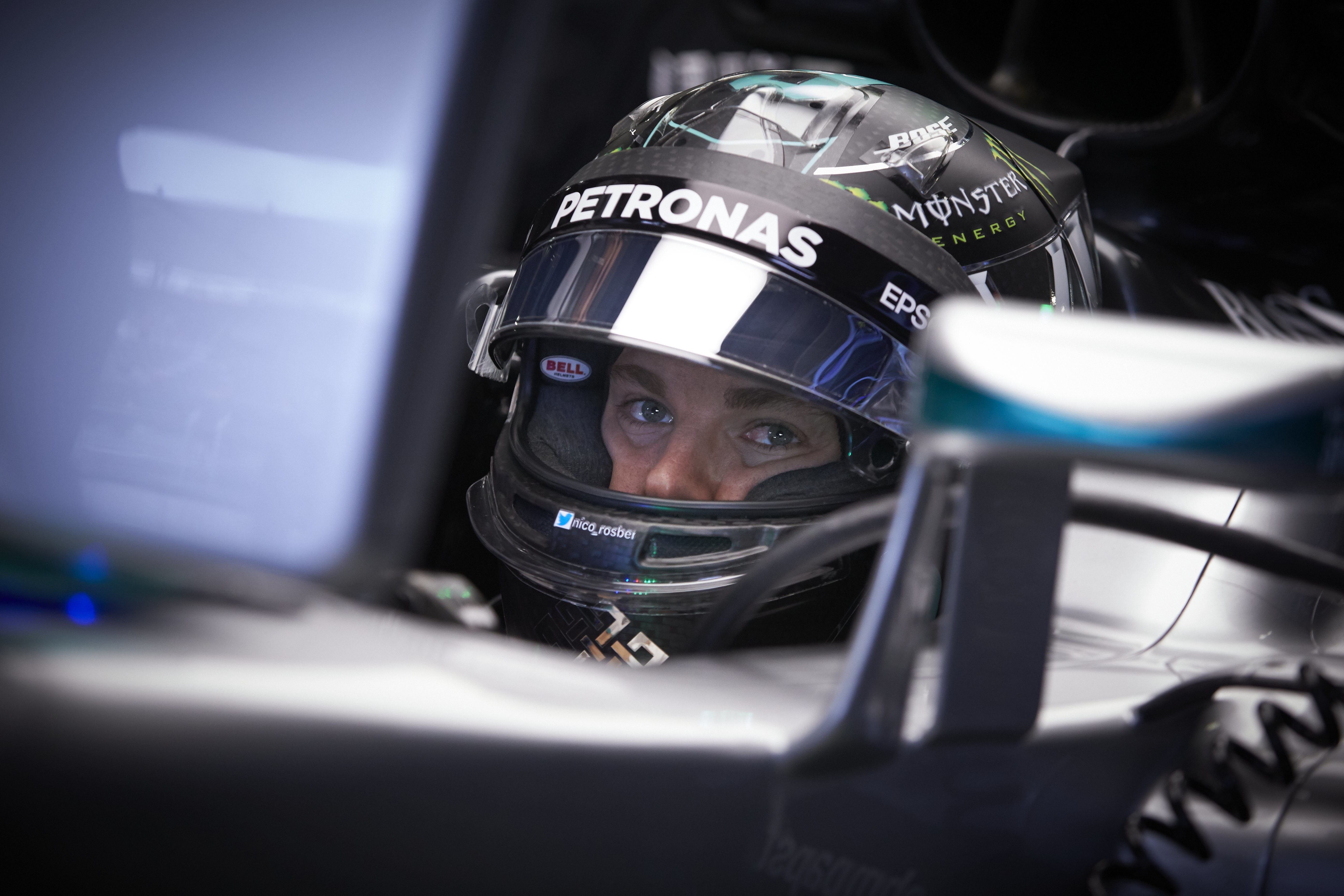 Nico Rosberg (Mercedes) au Grand Prix du Mexique 2016