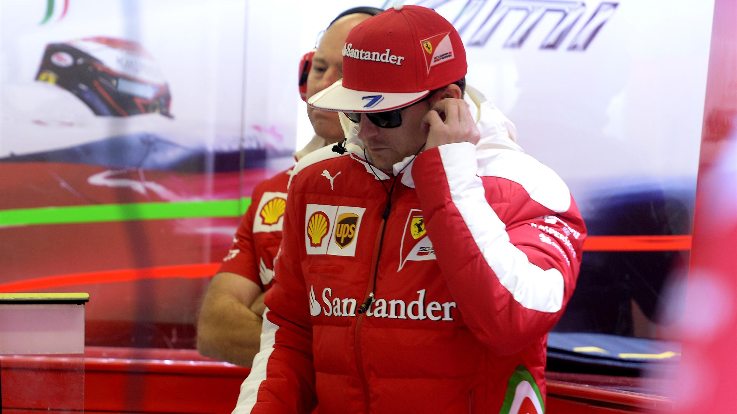 Kimi Räikkönen (Ferrari) au Grand Prix du Mexique 2016