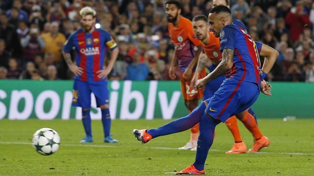 Sérieusement, Neymar, c'est quoi cette course d'élan ?