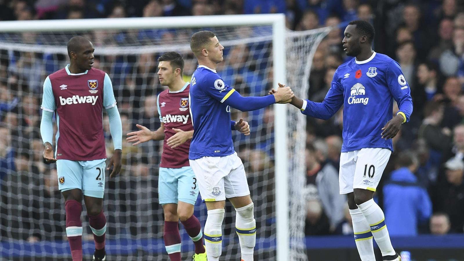 Lukaku and barkley shine as everton see off west ham - University league tables french ...