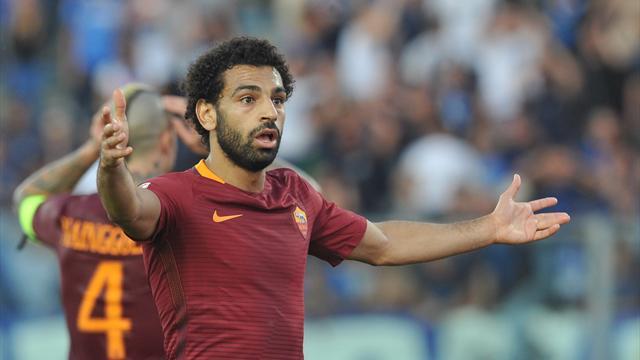 Roma, derby a rischio per Salah