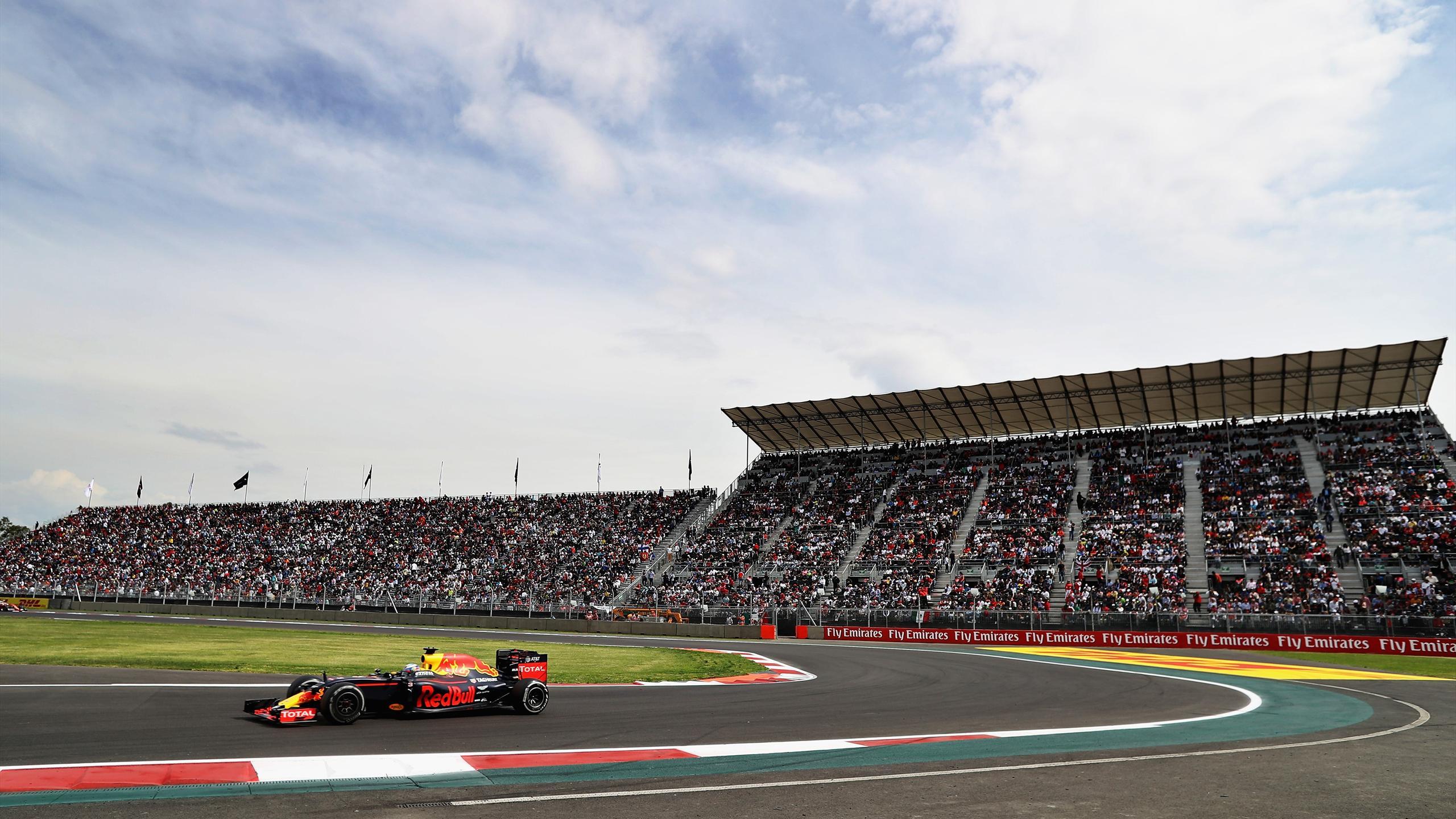 Daniel Ricciardo (Red Bull) au Grand Prix du Mexique 2016