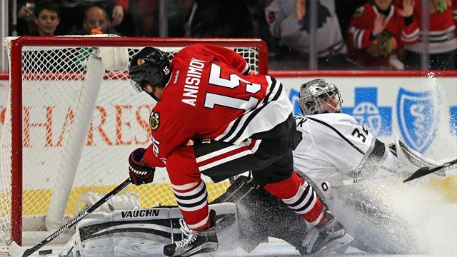 Анисимов стал лучшим бомбардиром НХЛ вданном сезоне