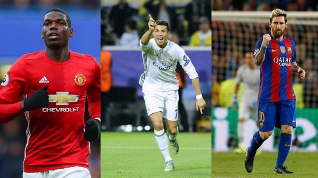 Le Top 10 (surprenant) des joueurs les mieux payés au monde