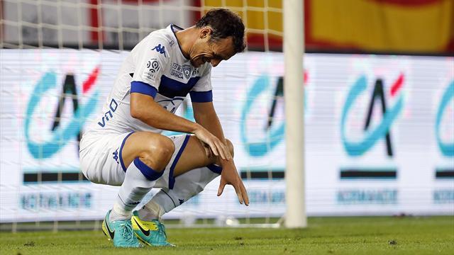 Rupture des ligaments croisés pour Squillaci, dont la saison est sans doute terminée