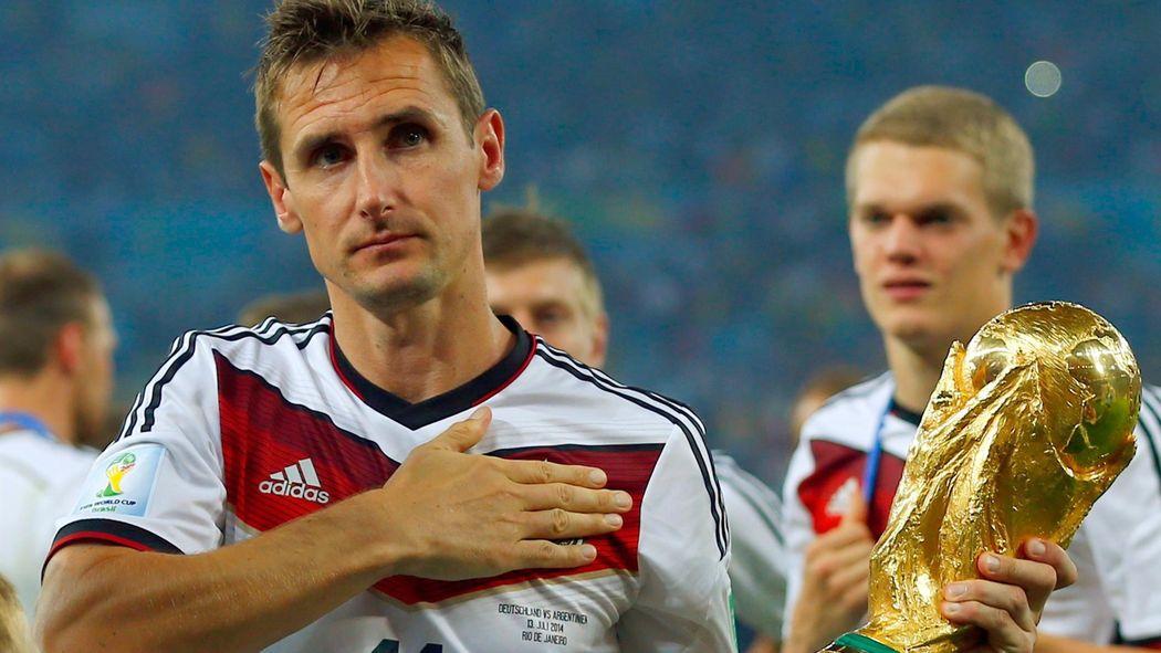 نتيجة بحث الصور عن miroslav klose world cup
