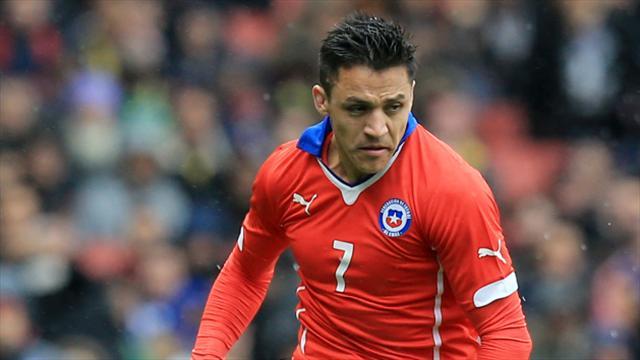 Санчес не попал в основу сборной Чили на матч с Камеруном