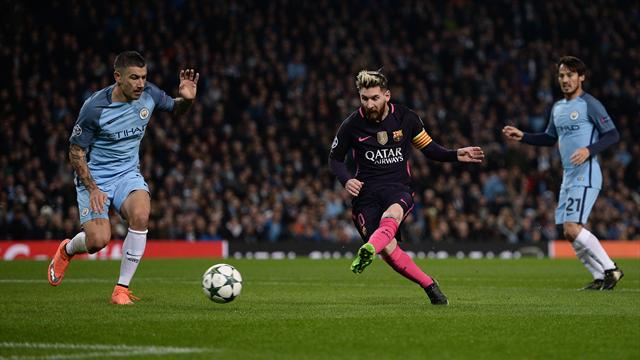 80m en 13 secondes, la contre-attaque éclair du Barça et de Messi n'a laissé aucune chance à City