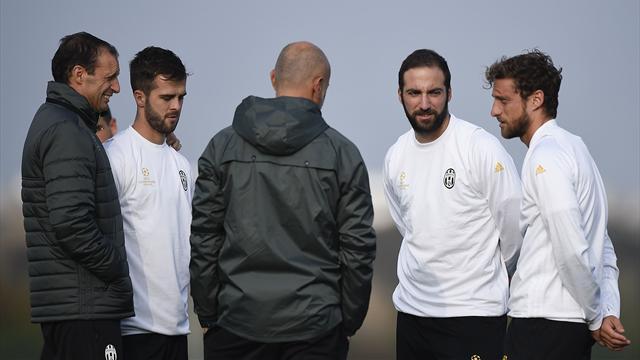 Juventus, Bonucci stop muscolare. Marchisio invece... Allegri in emergenza