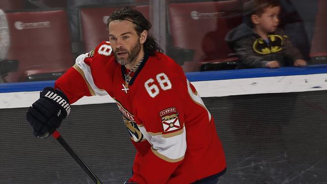 Ягр поднялся нашестое место вистории НХЛ поколичеству сыгранных матчей